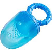 Alimentador Azul Com Silicone Girotondo Baby Azul - Tricae