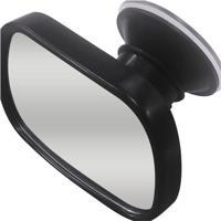 Espelho Retrovisor- Preto- 5,5X8,5X3,5Xcm- Bemfibem Fixa
