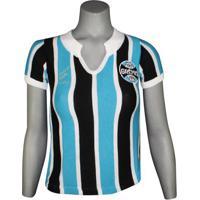 Camisa Feminina Dilva Oldoni Grêmio Retro Replica