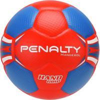 Bola De Handebol Penalty H1L - Unissex-Vermelho+Azul