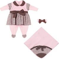 Saída Maternidade Padroeira Baby Yasmin Rosa