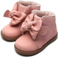Bota Pimpolho Infantil Conforto Rosa