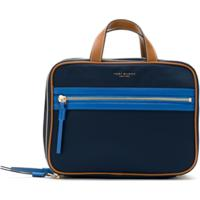 Tory Burch Necessaire Perry Colorblock Em Nylon - Azul