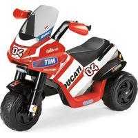 Mini Moto Elétrica Ducati Desmosedici 6V-Peg Pérego - Vermelho