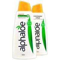 Kit Shampoo + Condicionador De Aloe Vera