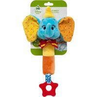 Buzina & Mordedor Elefantinho Dumbo (3M+) - Buba Buba6774 Buzina Com Mordedor Dumbo Elefantinho