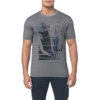 Camiseta Regular Estampa Manequim - Preto - Pp