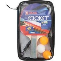 de22ccb33 Netshoes  Kit Tênis De Mesa (Ping Pong) 2 Raquetes