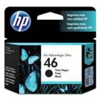 Cartucho Hp 46 26Ml Preto Original Cz637Al