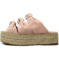 Tamanco Damannu Shoes Louane Feminino - Feminino-Rosa
