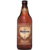 Cerveja Hausen Bier Weiss - 600Ml