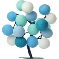 Árvore De Luz Santiago Cormilu Azul - Tricae