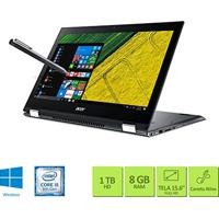 Notebook 2 Em 1 Acer Sp515-51N-50By Intel Core I5 8ª Geracao 8Gb Ram 1Tb Hd 15.6 Windows 10
