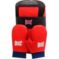 Kit Boxe Infantil Popular Millenium Knockout - Unissex