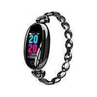 Smartwatch E68 Bracelete Feminino - Preto