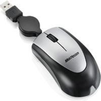 Mini Mouse Multilaser Óptico Retrátil Usb Preto E Prata - Mo073