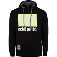Blusão De Moletom Com Capuz Ecko Fec E423A - Masculino - Preto