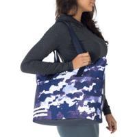 Bolsa Adidas Tr Co - Feminina - Azul Esc/Branco