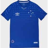 Camisa Umbro Cruzeiro I 2019 - Masculino-Azul