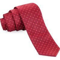 Gravata Slim Vermelha Modern - Sl106