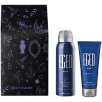 Combo Presente Egeo Blue: Antitranspirante 75G + Shower Gel 50G + Caixa De Presente