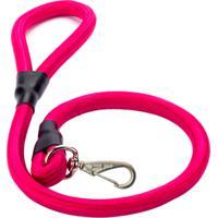 Guia Corda Roliça Grossa Mais Dog Pink 1,00M Com 1 Unidade