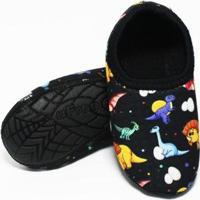 Pantufa De Neoprene Infantil Fit Dino Baby Ufrog Masculino - Masculino