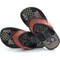 Chinelo Infantil Hot Wheels S.Flop