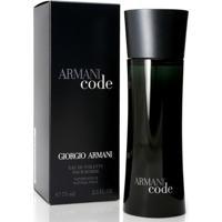 Armani Code De Giorgio Armani Eau De Toilette Masculino 50 Ml