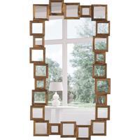 Espelho Decorativo Pavia 71X123 Cm Madeira