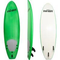 Prancha De Surf 5.8 Mini Fun Brasil Natural Azul Verde Claro/Branco
