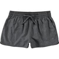 Shorts Mescla Runner Com Detalhe Refletivo