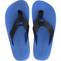 Chinelo Kenner One Colors Masculino - Masculino-Preto+Azul