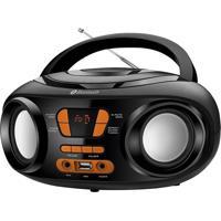 Rádio Portátil Preto Bluetooth Usb Mondial Bivolt Bx-19
