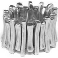 Bracelete Vestopazzo Coroa Pequena Feminino - Feminino-Prata