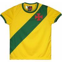 Camisa Brasil Vasco Da Gama Infantil - Masculino