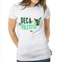 Camiseta Palmeiras Deca É Do Palestra Feminina - Feminino