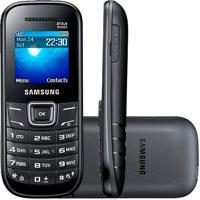 Celular Samsung E1205 2G Single Desbloqueado Preto