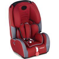 Cadeira Para Automã³Vel Evolve- Vermelho Escuro & Cinza