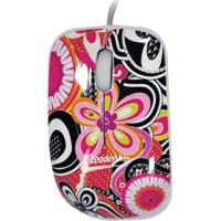 Mini Mouse Ótico Leadership Com Fio 3415 Florais