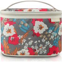 Necessaire Frasqueira Jacki Design Estamp - Feminino-Floral