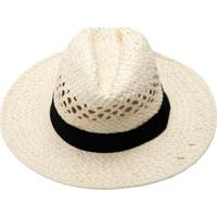 Chapéu De Palha Com Detalhe