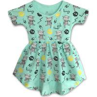 Vestido Infantil Caiçarinhas Baby Confort Múmias Divertidas