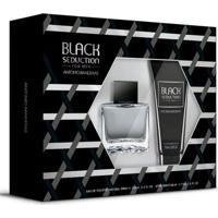 Kit Perfume Antonio Banderas Seduction In Black + Pós Barba