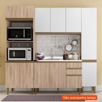 Cozinha Compacta Cook 11 Pt 2 Gv Aveiro E Branca