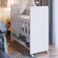 Berço Escrivaninha Bedside Bs1005 Branco - Art In Móveis