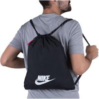 Gym Sack Nike Heritage 2.0 - Preto/Branco