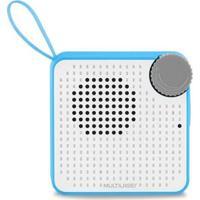 Caixa De Som Mini Bluetooth Speaker 5W Azul Multilaser Sp312