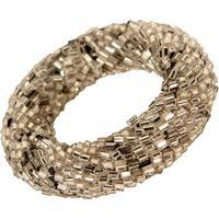 Porta-Guardanapo Artenasal Com Vidrilhos Decorativo Ring White