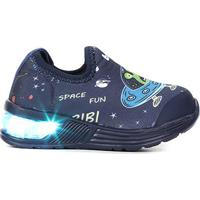 Tênis Infantil Bibi Led Space Wave Astronalta Masculino - Masculino